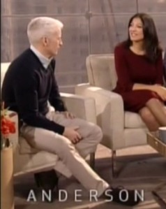 Terri on the Anderson Cooper Show
