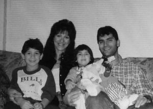 family photo 1 - b+w